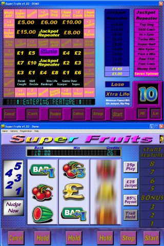 Super Fruits Fruit Machine